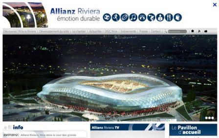 allianz riviera 2, déc. 2012