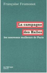campagne des halles, janv. 2012
