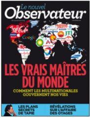 couverture nouvel obs, mar. 2013