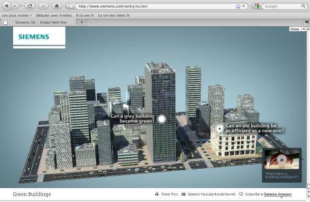 Site internet Siemens - 12-4-2010