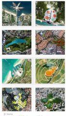 © Veolia Images de publicités du groupe Véolia visant à montrer des villes copiant la nature