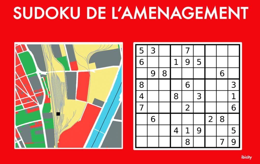 Sudoku de l'aménagement